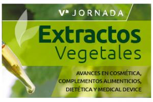 V Jornada de extractos vegetales