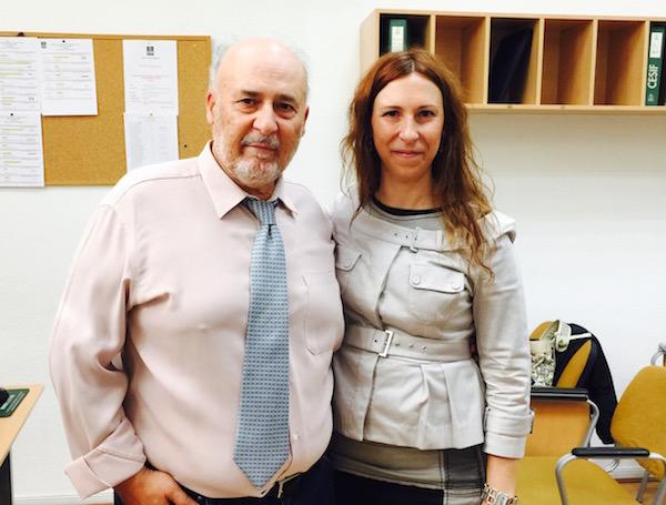 Nuria Amarilla y Manuel Amarilla, directora y presidente de Eupharlaw