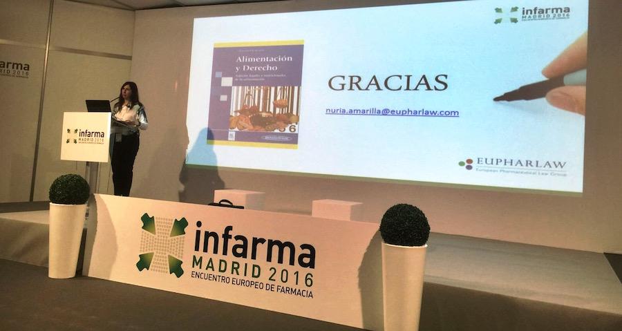 nuria_amarilla_infarma_2016_eupharlaw_derecho_farmacia