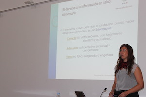 Conferencia de Nuria Amarilla en el COFZ: ¿Medicamento o Alimento? ¿Otras categorías?