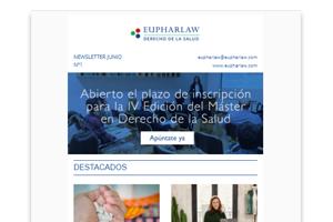 Nuevo Boletín Mensual de Noticias de Eupharlaw