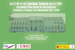 Cita sobre I+D+i en sanidad animal en el CSIC