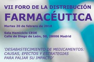 El VII Foro de la Distribución Farmacéutica analiza el desabastecimiento de fármacos