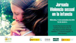 SEPS. Pediatría Social-I Jornada sobre violencia sexual en la infancia