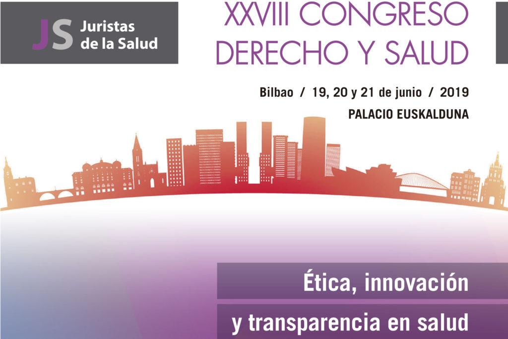 Los Juristas de la Salud se dan cita en Bilbao a finales de junio