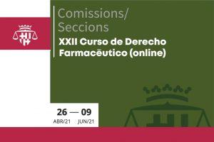XXII Curso de Derecho Farmacéutico (online)